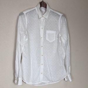 Gap   White Button Down Shirt XS
